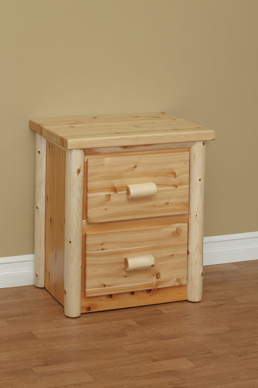 Photo of: CRL Great Lakes 2 Drawer Night Stand