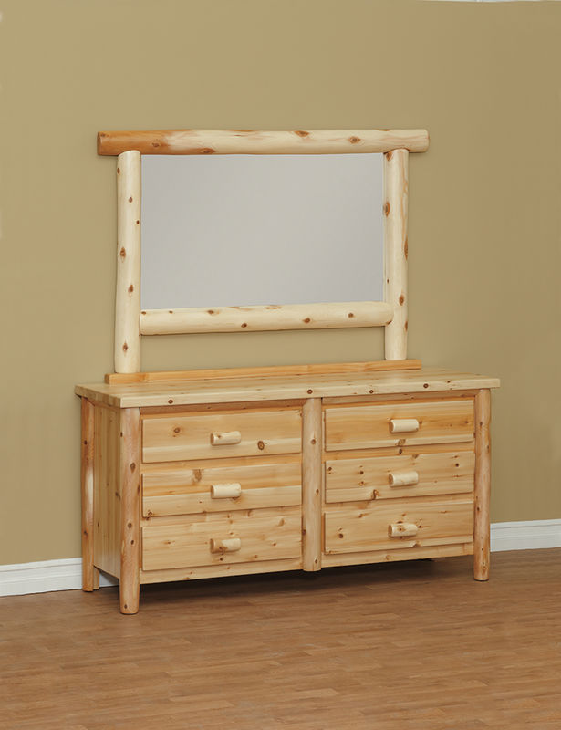 Photo of: CRL Great Lakes 6 Drawer Dresser w/ Mirror