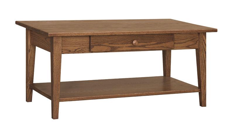 Photo of: CVW Shaker Coffee Table W/ Shelf