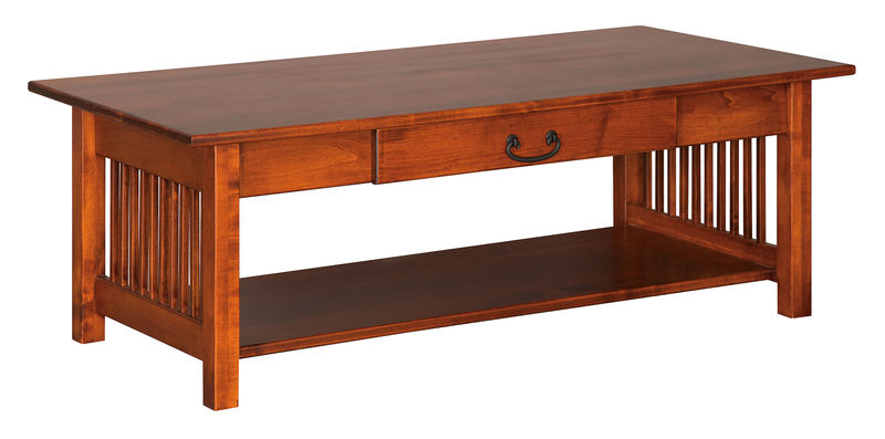 Photo of: CVW Mission Coffee Table W/ Drawer