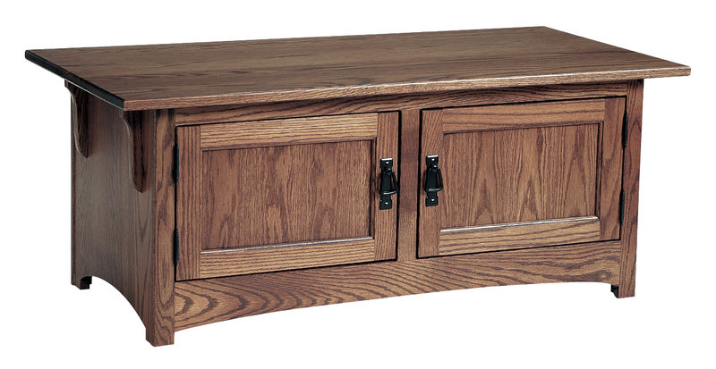 Photo of: CVW Mission Coffee Table W/Doors