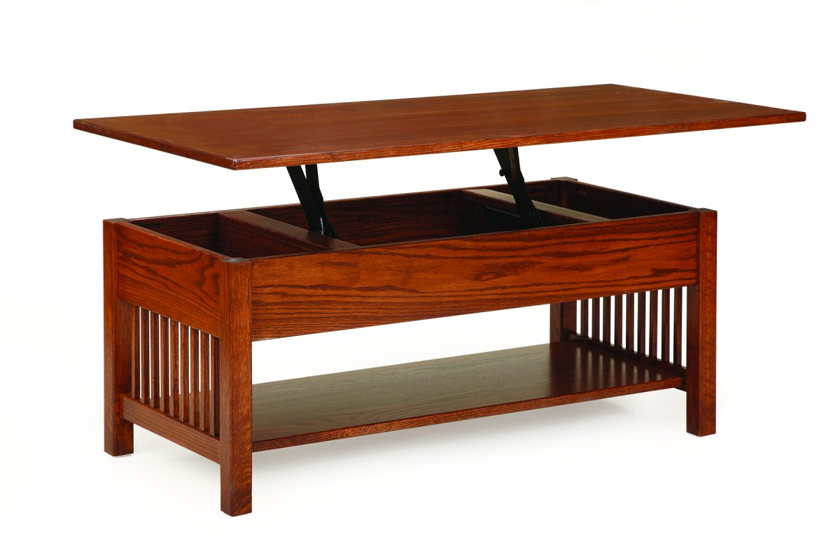 Photo of: ECF MISSION LIFT TOP COFFEE TABLE
