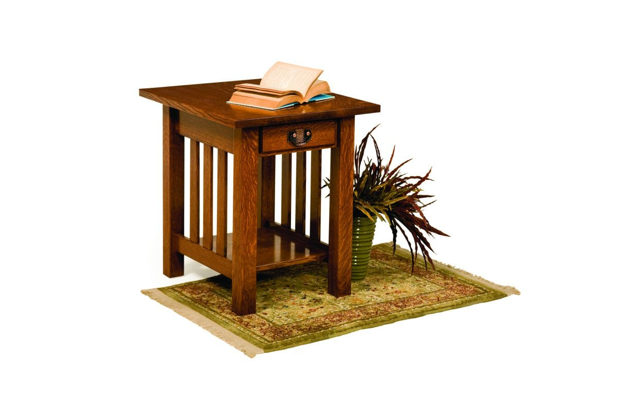 Photo of: ECF CLASSIC MISSION END TABLE