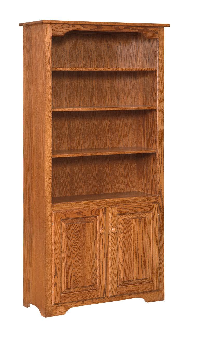 """Photo of: MEW 72 """" Bookcase W/Doors"""