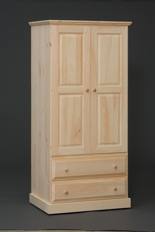 Photo of: VRW 2 Door-2 Drawer Armoire