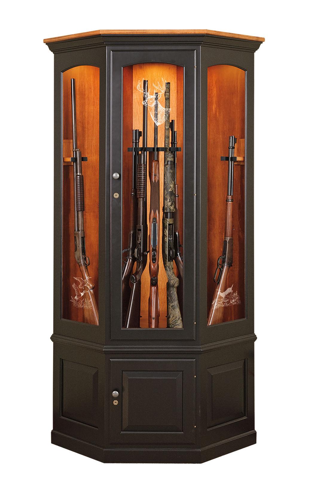 Photo of: JSW 14 Gun Corner Cabinet