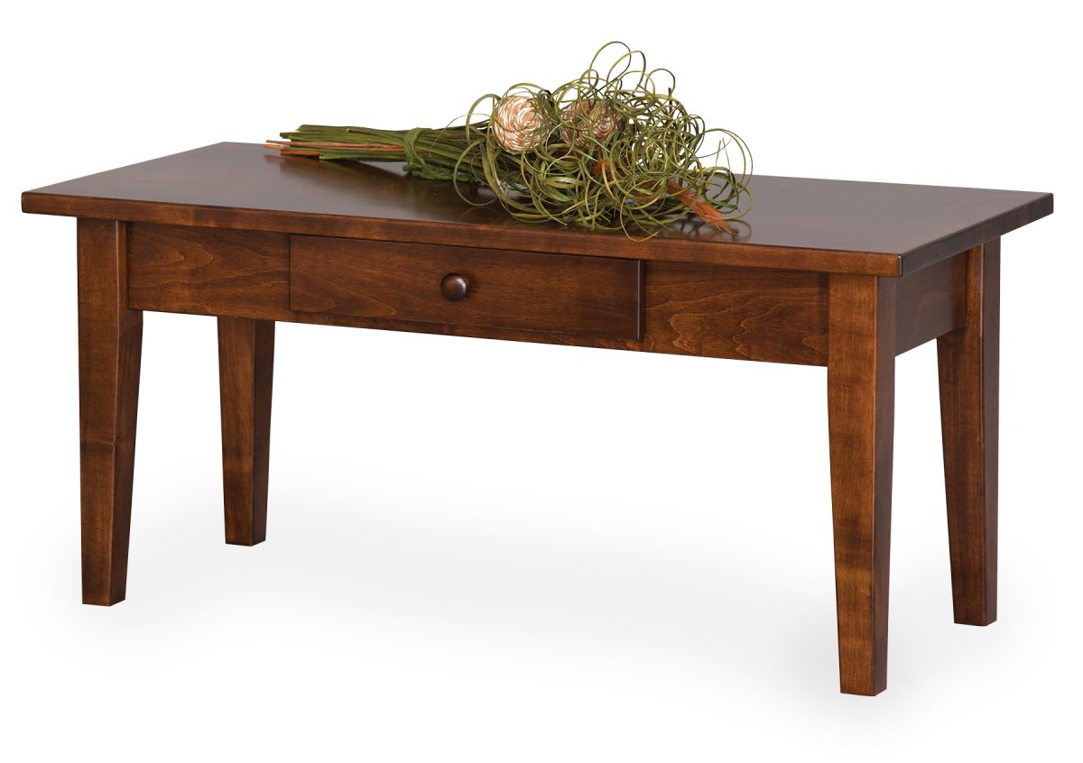 Photo of: ECF SHAKER COFFEE TABLE W/ DRAWER