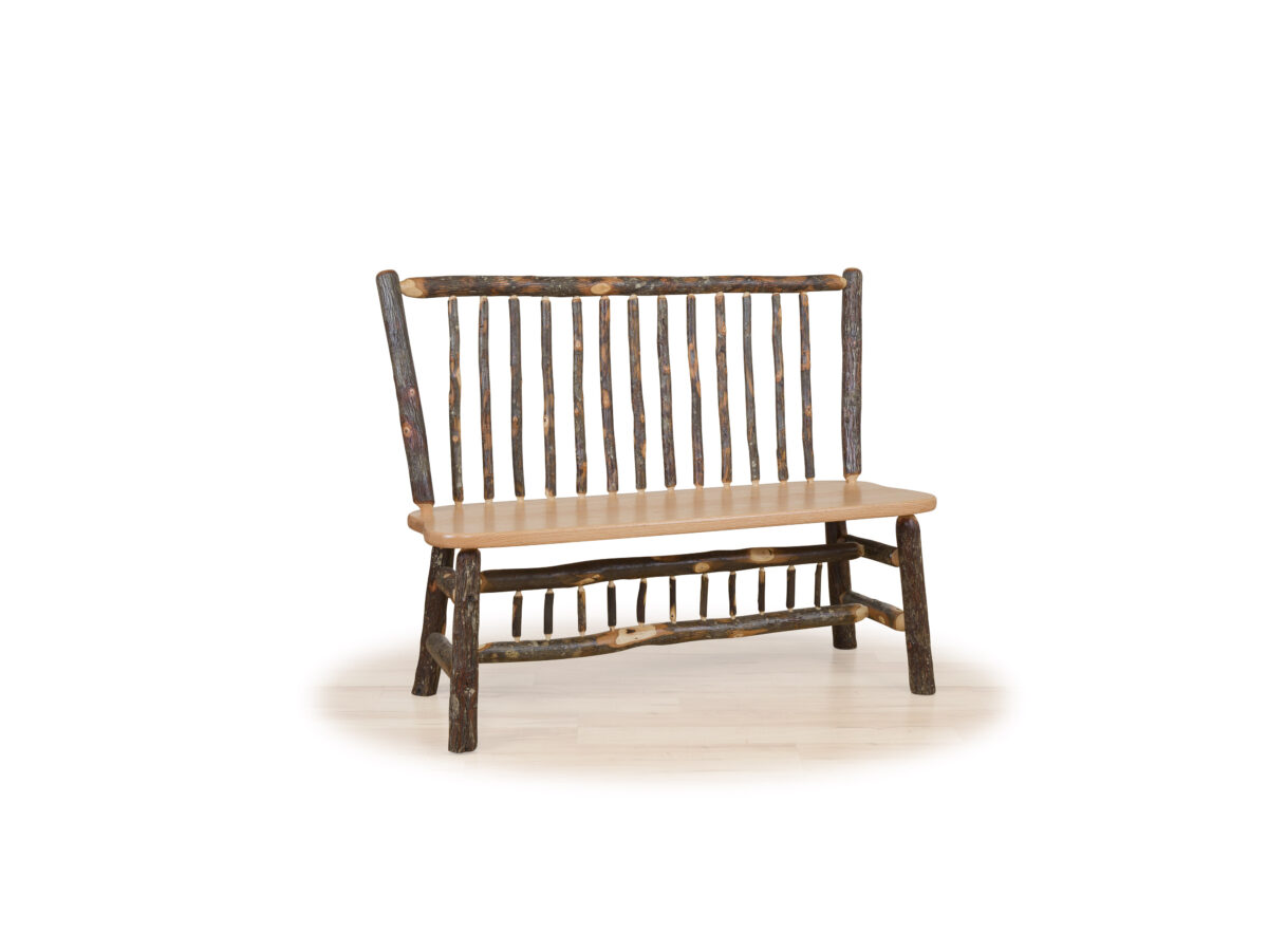 Photo of: BRF Rustic Deacon's Bench