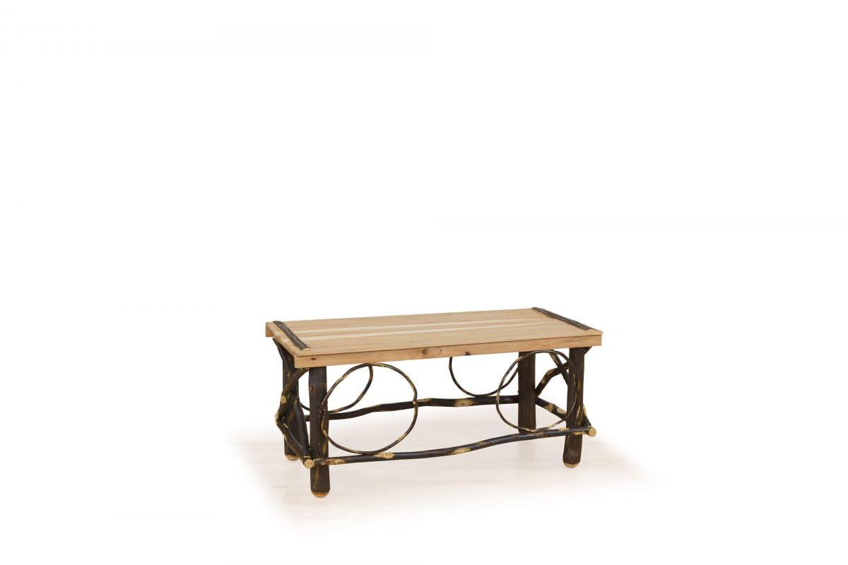 Photo of: BRF Rustic Slat Top Coffee Table