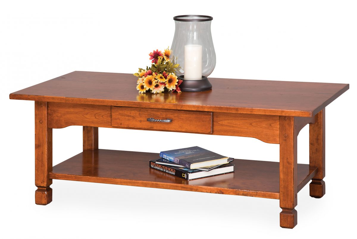Photo of: ECF COUNTRY RUSTIC COFFEE TABLE
