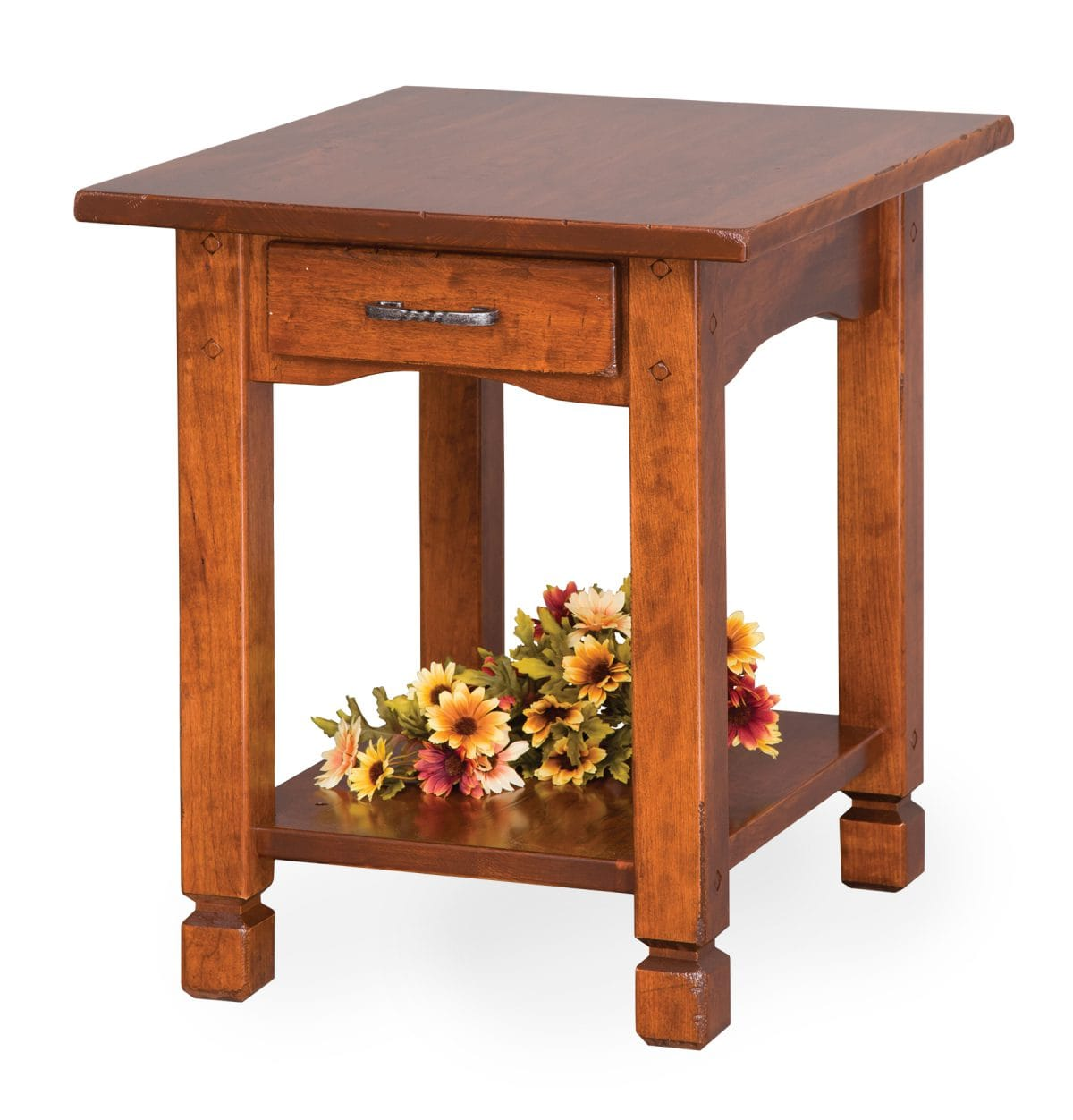 Photo of: ECF COUNTRY RUSTIC END TABLE