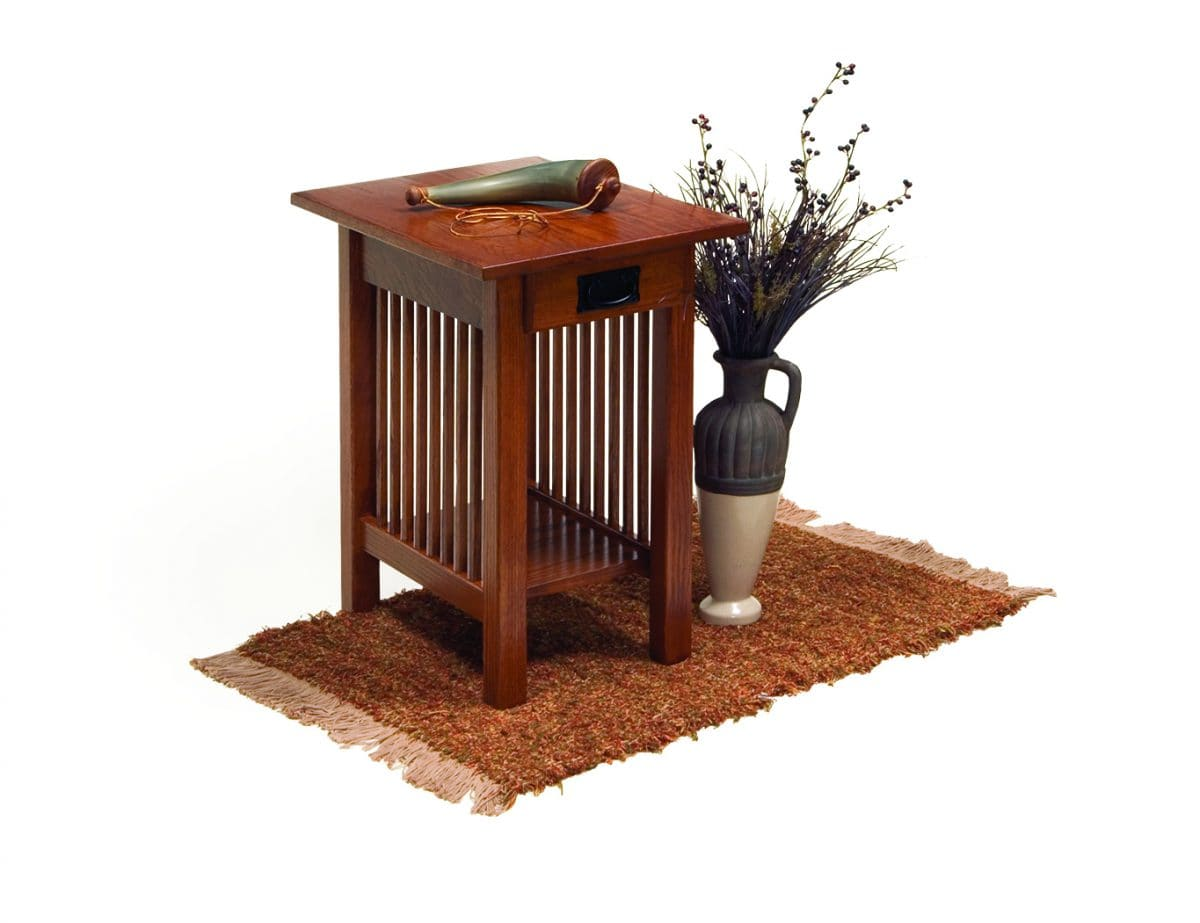 Photo of: ECF MISSION CHAIR SIDE TABLE