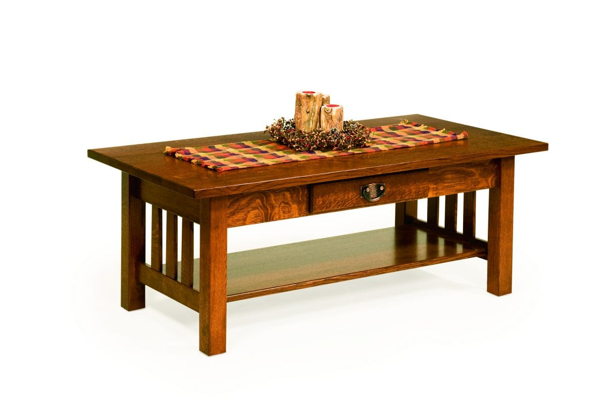 Photo of: ECF CLASSIC MISSION COFFEE TABLE