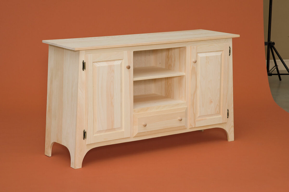 Photo of: DRP 55″ Slant TV Stand