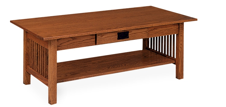 Photo of: ECF MISSION COFFEE TABLE W/DRAWER