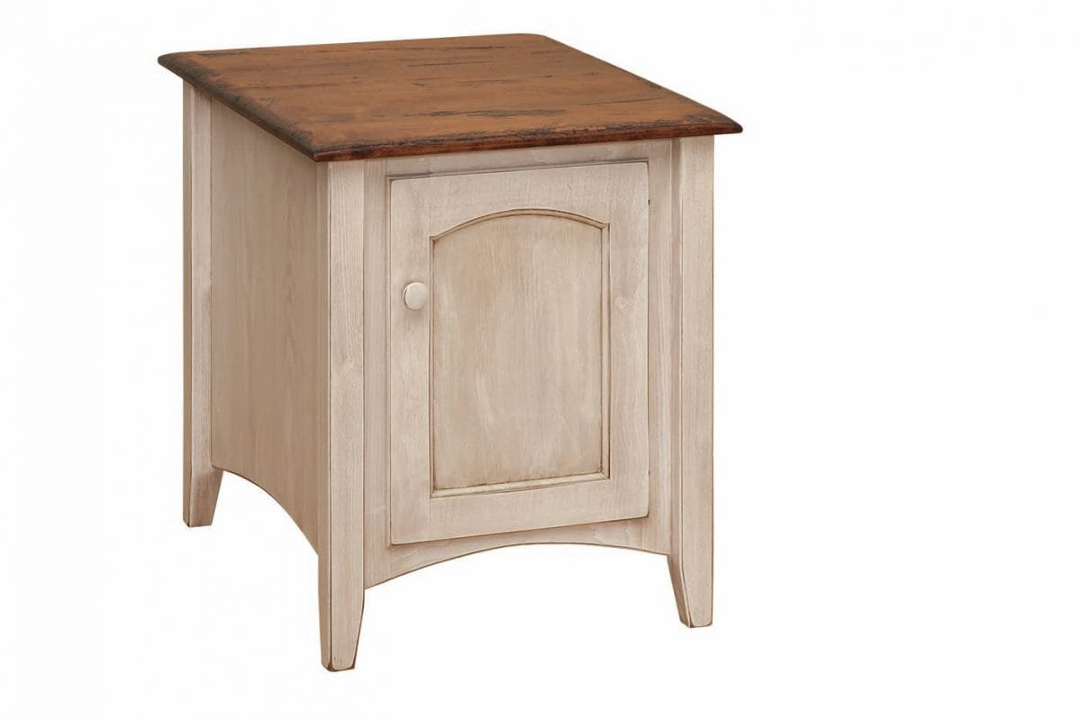 Photo of: FRW Shaker Cabinet End Table
