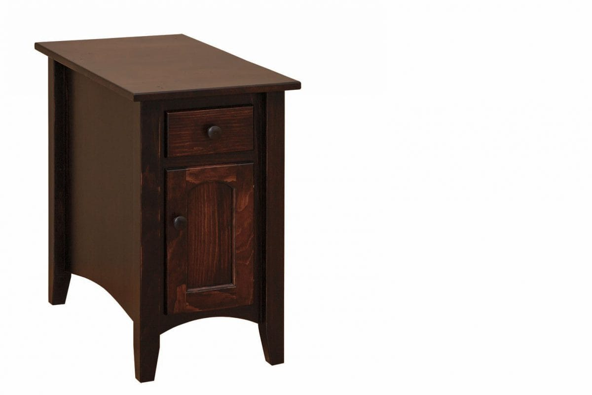 Photo of: FRW Shaker Cabinet Chair Side Table w/ Drawer