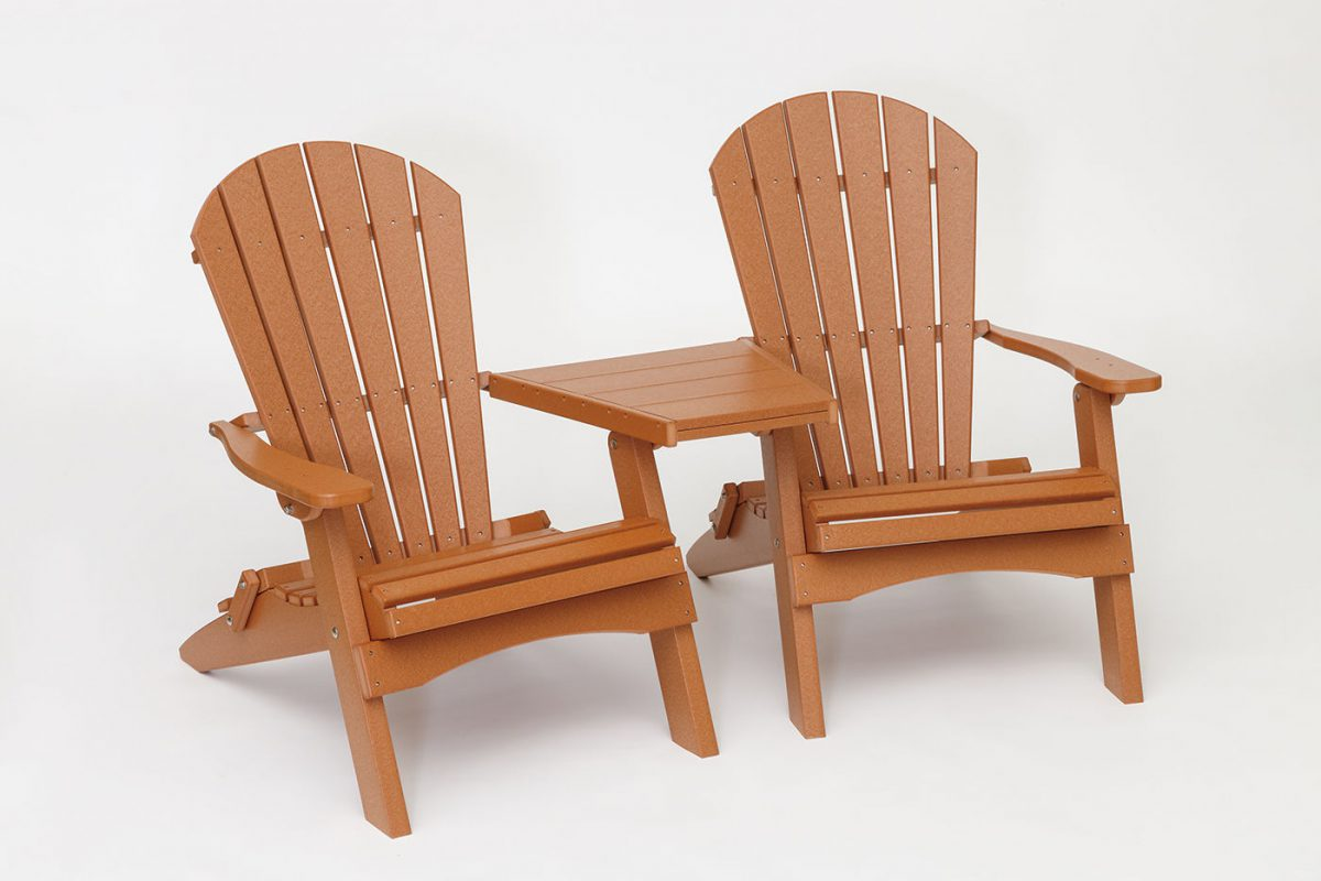 Photo of: FWK Folding ADK Chairs w/ Center Table