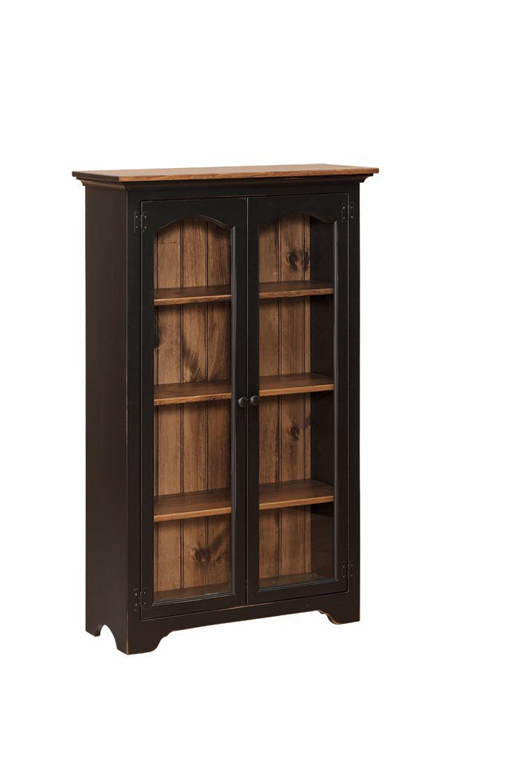 Photo of: JJW Bookcase with Glass Doors
