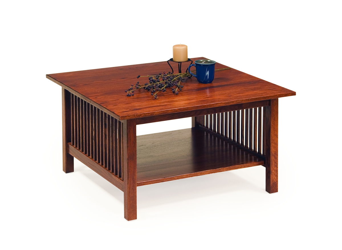 Photo of: ECF MISSION SQ COFFEE TABLE