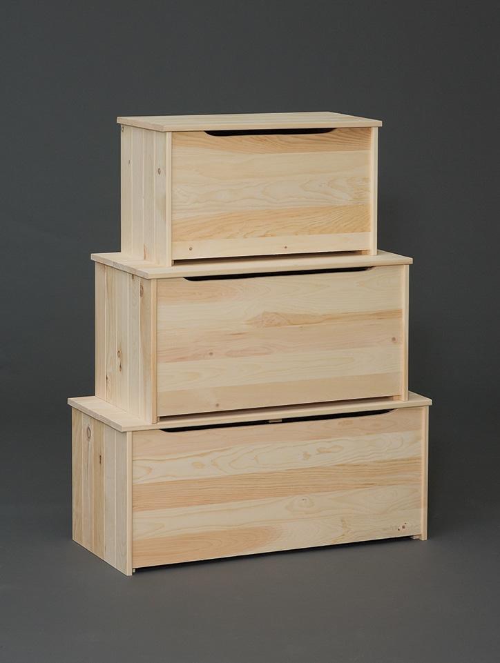 Photo of: VRW Pine Storage Boxes