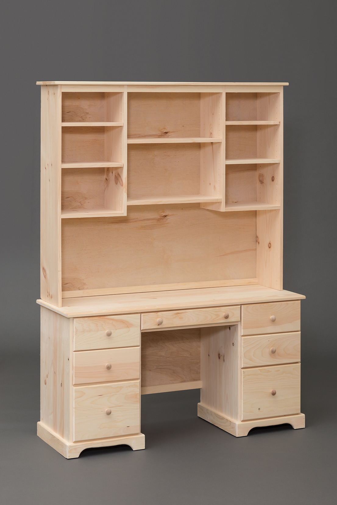 Photo of: VRW 7 Drawer Desk (Hutch not included)